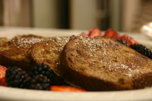 Banana Bread French Toast Special